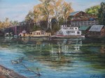 Robyn Every - Paddlesteamers at the Old Echuca Wharf