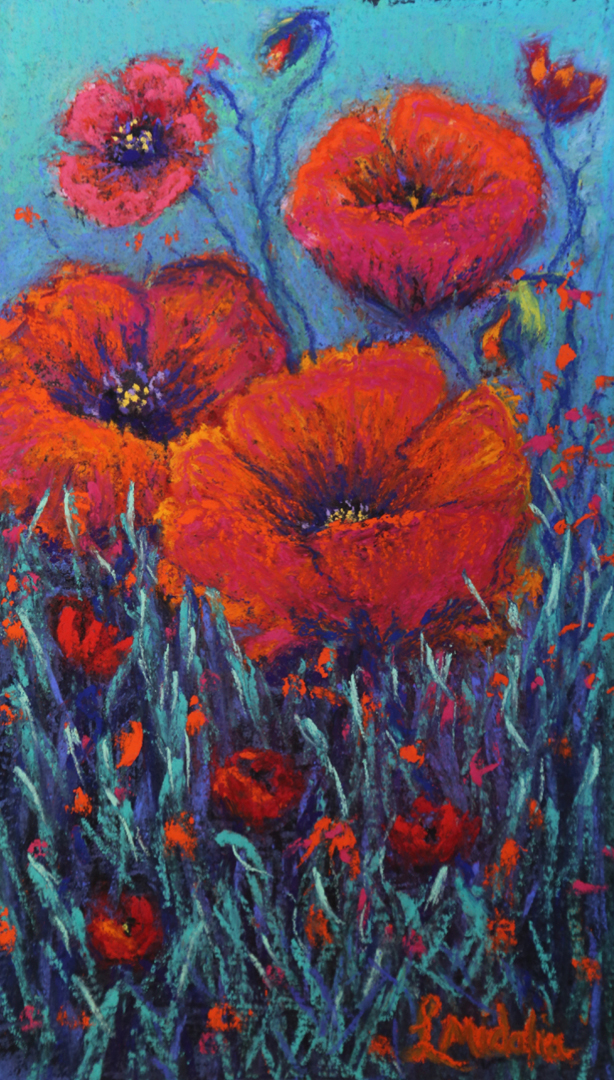 Lindy Midalia - Poppies