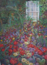 Zoe Butler - Flowers and Window